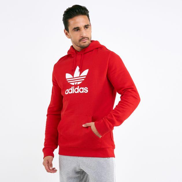 adidas trefoil sweatshirt mens