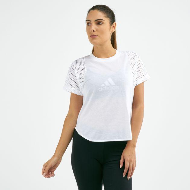 adidas Women's ID Mesh T Shirt