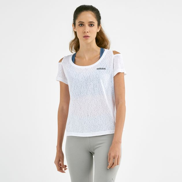 low price good quality buying cheap adidas Women's Xpressive Cutout T-Shirt