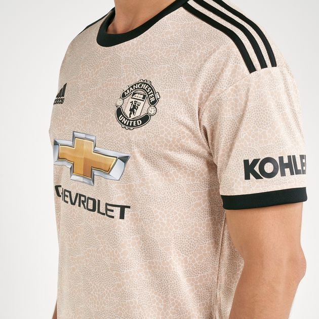 sports shoes a9f07 1bc71 adidas Men's Manchester United Away Jersey - 2019/20