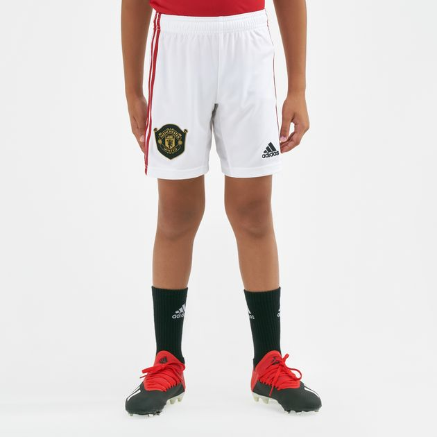 5452f3acf adidas Kids  Manchester United Home Shorts - 2019 20 (Younger Kids ...