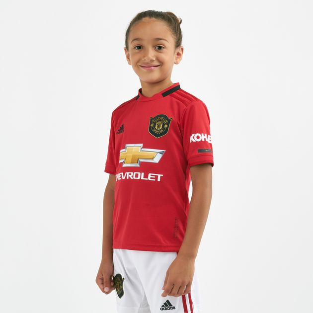 Adidas Kids Manchester United Home Jersey 2019 20