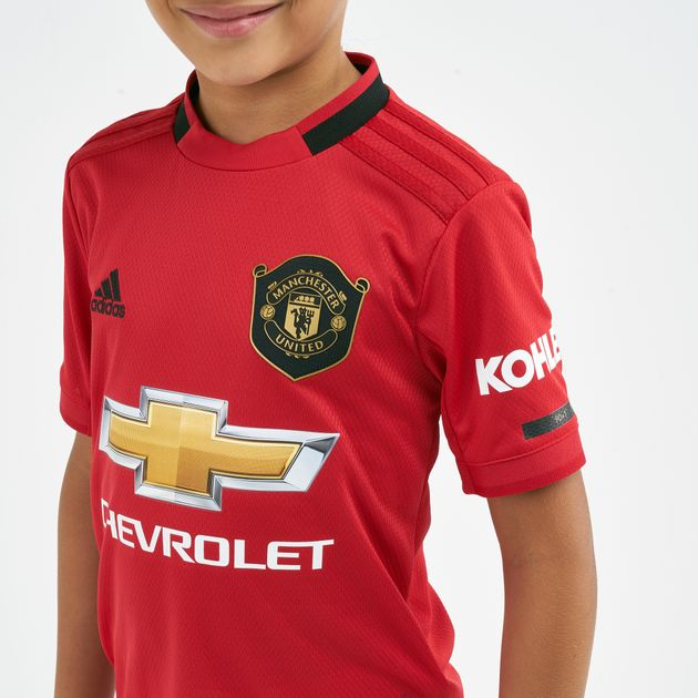 the best attitude 0d7d1 bc3e7 adidas Kids' Manchester United Home Jersey - 2019/20