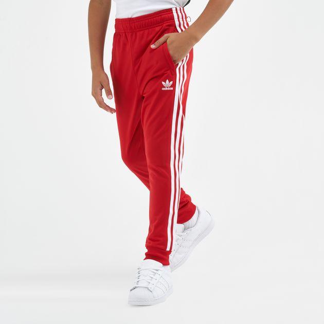 adidas superstar pants red Shop