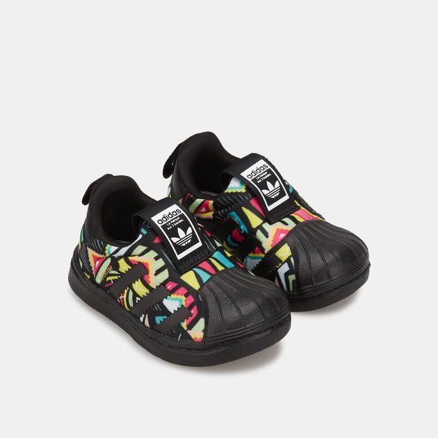 adidas Originals Baby Boys Originals Superstar Shoes I (8.5 Toddler M)