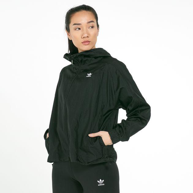 adidas windbreaker jacket womens