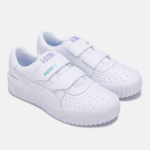 PUMA x SG Women's Cali Velcro Shoe   Sneakers   Shoes ...