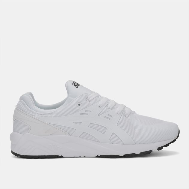 watch 09475 a4bd9 Shop White Asics Gel-Kayano Trainer Evo Shoe for Mens by ...