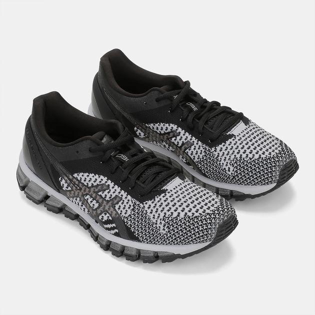 finest selection e60bc 3e0cd Shop Black Asics GEL-Quantum 360™ Knit Shoe for Womens by ...