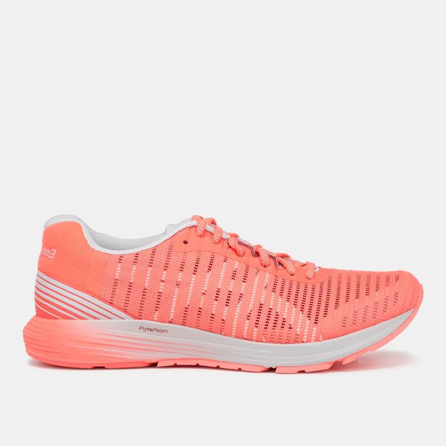 the best attitude 613e3 49e57 Shop Pink Asics DynaFlyte 3 Shoe | Road Running | Running ...