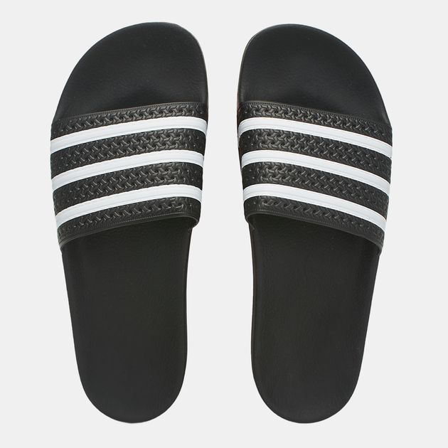 175987383056d8 Shop Black adidas Originals Adilette Slide Sandal for Mens by adidas ...