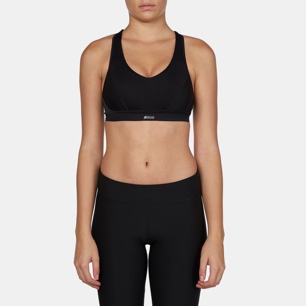 c2f359f02e400 Shop Black Shock Absorber Padded Pump Sports Bra for Womens by Shock ...