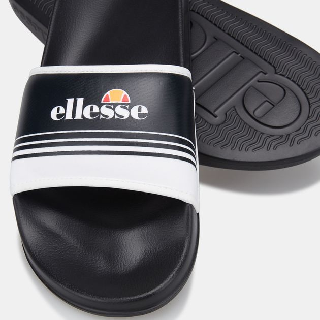 White Ellesse Mens Filippo Sliders