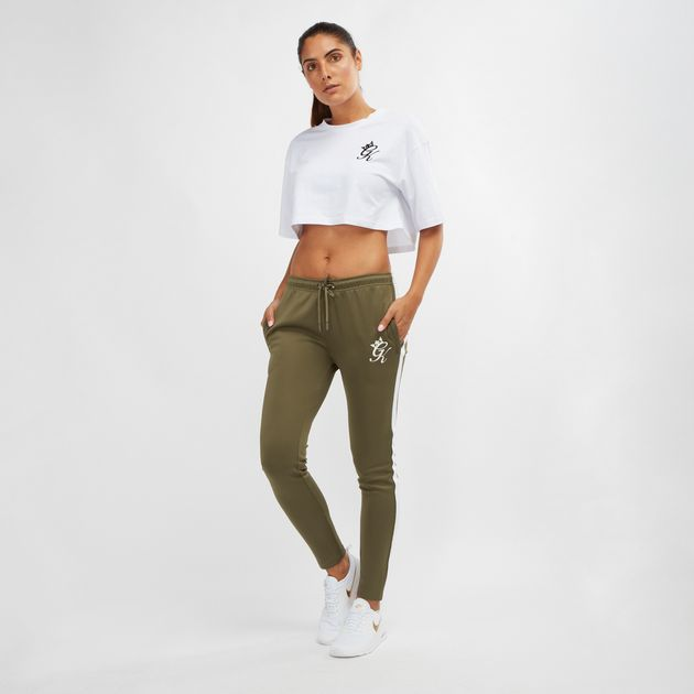 6ea414f1 Shop Green Gym King Poly Tracksuit Pants for Womens by Gym King | SSS