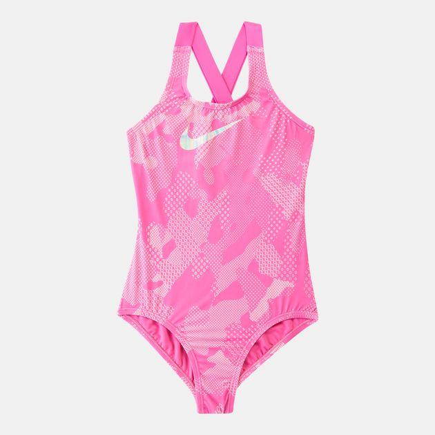 73110a7957 Nike Swim Kids' Optic Camo One-Piece Swimsuit (Older Kids), 1694369