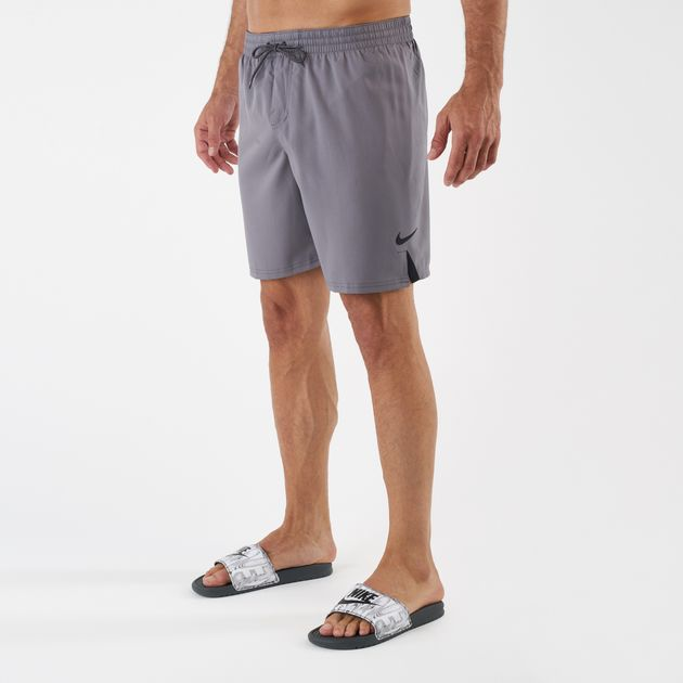 f55391db74 Nike Swim Men's Solid Vital 7 Inch Boardshorts