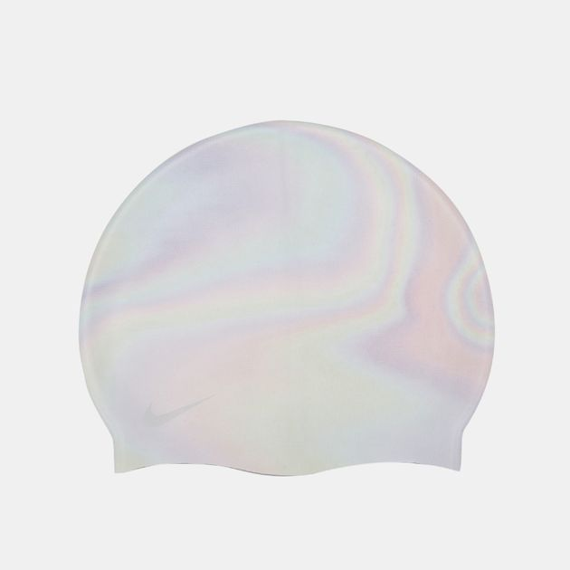 6dd0f605918 Nike Kids  Iridescent Silicone SwimCap (Older Kids) - Grey