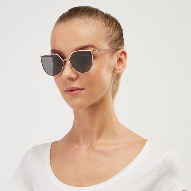 99a0e3cbe63 Jeepers Peepers Cat Eye Sunglasses - Metallic