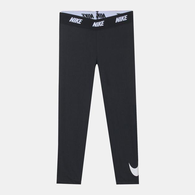 f8258605b Shop Black Nike Kids' Sports Essential Printed Leggings for Kids by ...