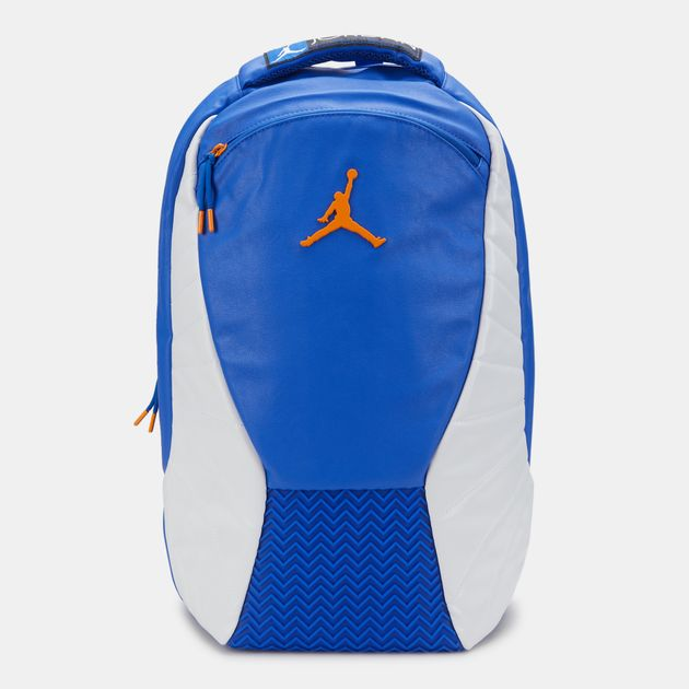 Jordan Kids  Air Jordan 12 Retro Backpack (Older Kids) - Blue bd381b32afb10