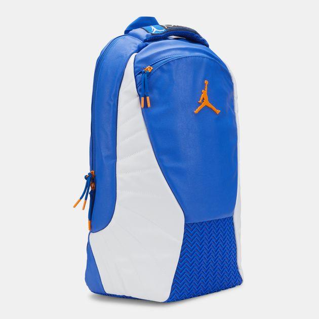 3bcfed3851e0e Jordan Kids' Air Jordan 12 Retro Backpack (Older Kids) - Blue, 1381379