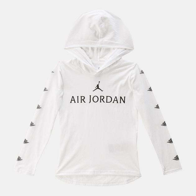 d8d349fddb0d3d Jordan Kids  Wings Long Sleeve hoodie T-Shirt (Older Kids)