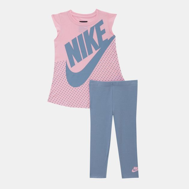Nike Kids  Sportswear Futura Dress and Leggings Set (Baby and Toddler) 63672177e
