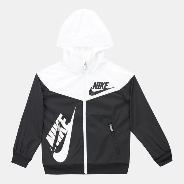 2911e46964 Nike Kids' Sportswear Full Zip Windrunner Jacket (Younger Kids), 1412920
