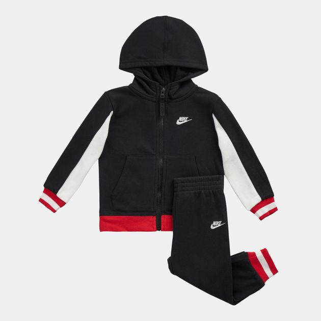 d9bd357325 Nike Kids' Air Full Zippered Hoodie and Jogger Set (Baby and Toddler ...