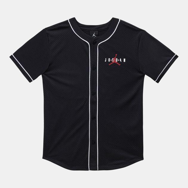 081159f0771205 Jordan Kids  Jumpman Air Mesh T-Shirt (Older Kids)