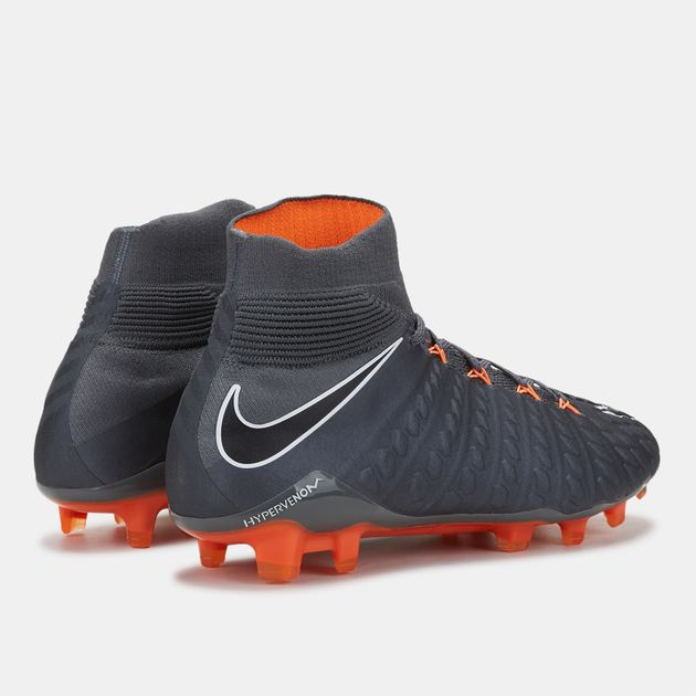 hot sale online 08678 13a26 Shop Grey Nike Hypervenom Phantom III Elite Dynamic Fit Firm ...