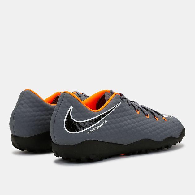 new style 41584 bec7a Shop Grey Nike Hypervenom PhantomX 3 Academy Pack Turf ...