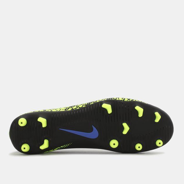 online retailer 58b34 d2738 Shop Black Nike Hypervenom Phade II Firm Ground Football ...