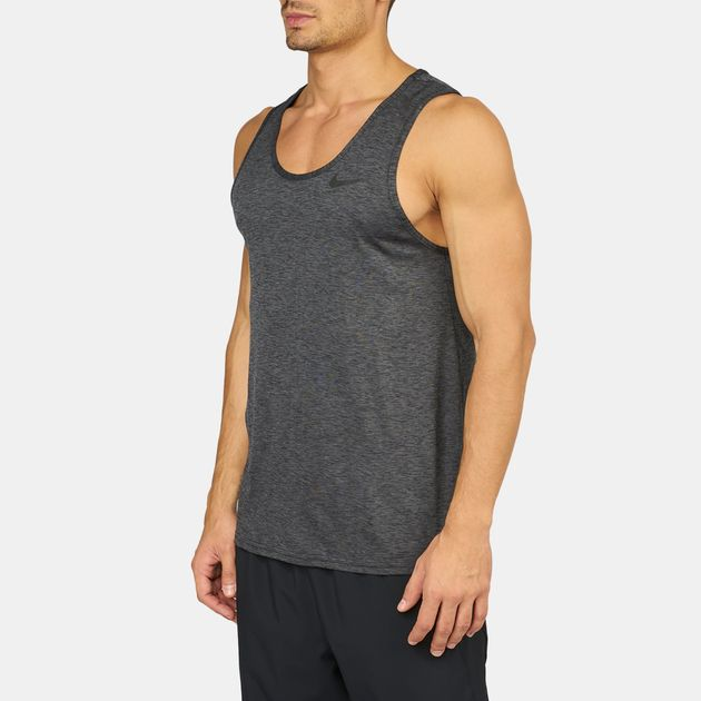 66bc2f58a Shop Grey Nike Breathe Training Tank Top for Mens by Nike | SSS