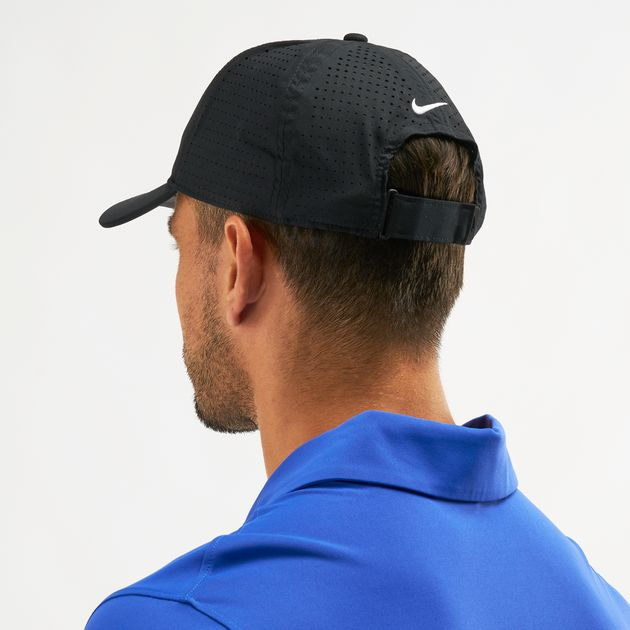 6094587cea5d7 Nike Golf Legacy 91 Perforated Golf Cap - Black