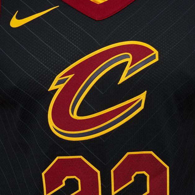 the latest ac077 c5563 Shop Black Nike NBA Cleveland Cavaliers LeBron James ...