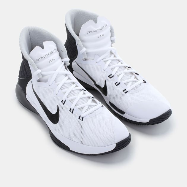huge discount a95da 93973 Shop White Nike Prime Hype DF 2016 Shoe for Mens by Nike | SSS