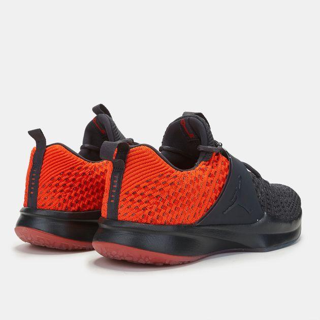 buy online cdfee e07e4 Shop Black Nike Jordan Trainer 2 Flyknit Training Shoe for ...
