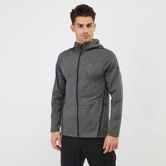 11b8ea142b83 Nike Dri-FIT Long Sleeve Full-Zip Training Hoodie