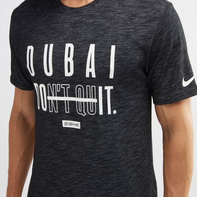 It T Dubai Quit Dont Nike Shop Fit Do Dri For Black Shirt z4wxqHZa8