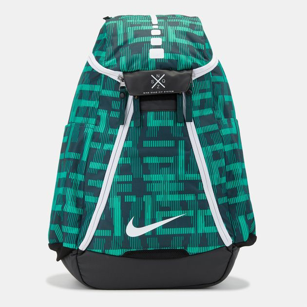 competitive price 81ed3 70c6d Nike Hoops Elite Max Air Team 2.0 Graphic Basketball Backpack - Green,  1130723