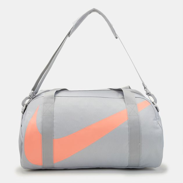 Shop Grey Nike Kids  Gym Club Duffel Bag for Kids by Nike  da1e5773c82b1