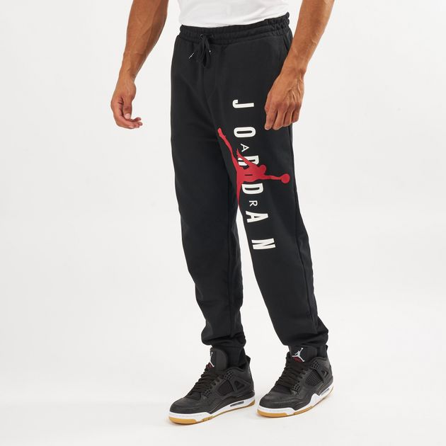 efff8476034 Jordan Men's Air Jumpman Lightweight Brushed Fleece Pants | Track ...