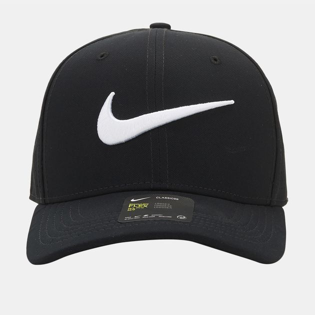 330141f3a6f Shop Black Nike Vapor Classic 99 SF Fitted Hat for Mens by Nike