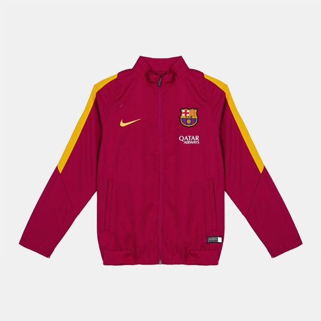 Nike Kids' FC Barcelona Revolution B Woven Tracksuit
