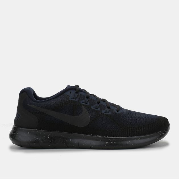 a18f955aed4 Shop Black Nike Free RN 2017 Shield Shoe for Mens by Nike