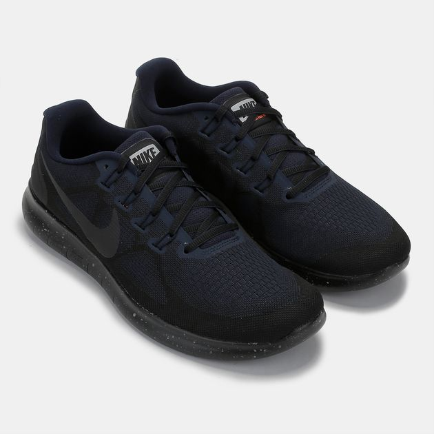 457d31dcc31a Shop Black Nike Free RN 2017 Shield Shoe for Mens by Nike