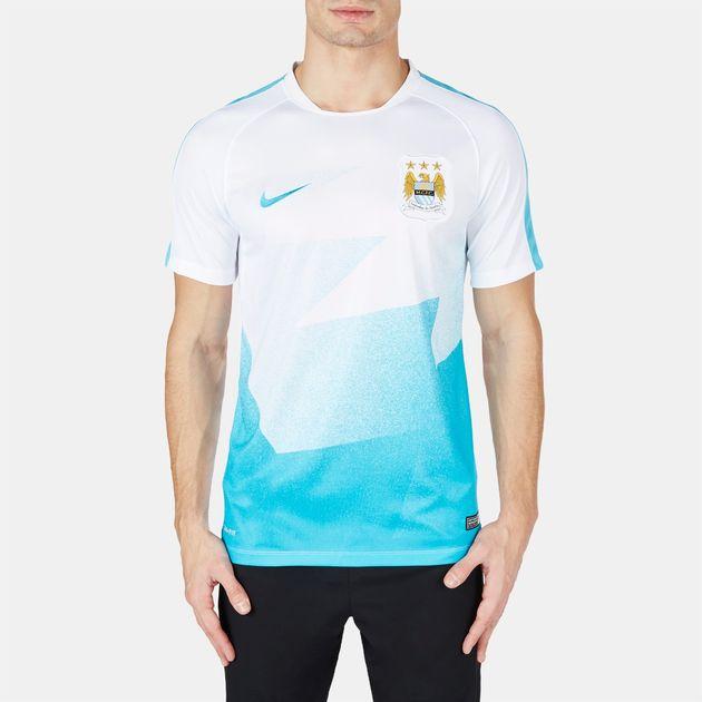 Nike Manchester City FC Pre-Match Soccer T-Shirt