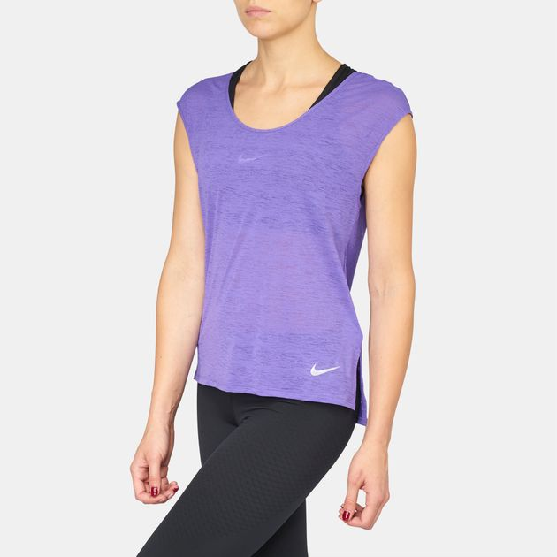 Nike Breathe Cool Running T-Shirt | T-Shirts | Tops