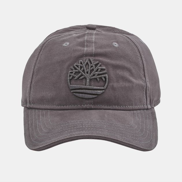 c2c3a96796e Shop Grey Timberland Cotton Canvas Baseball Cap for Mens by ...
